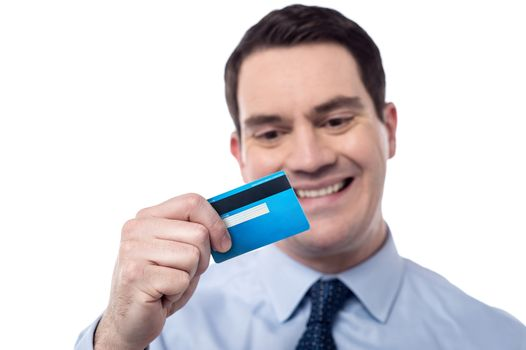 Finally, i got my debit card.