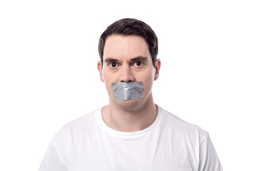 Stop making loud noise.