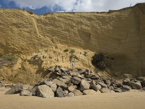 landslides hazard signal