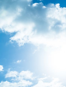 Beautiful cloudy sky background