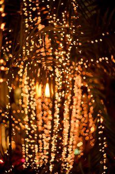 abstract blur bokeh light background