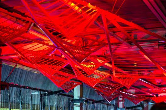Futuristic ceiling