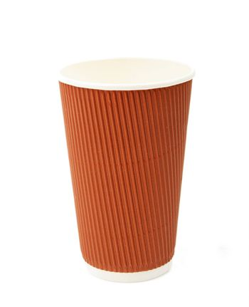 An image of cup for cofee on white