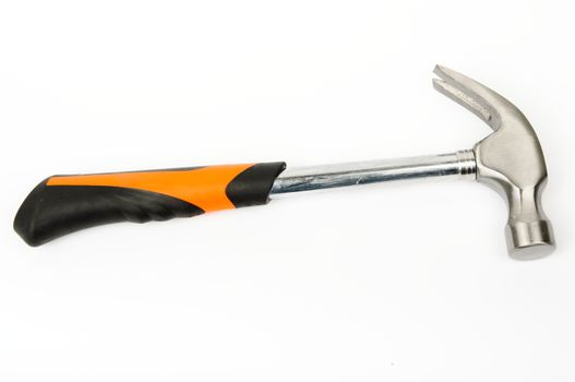 An image of hammer on white background