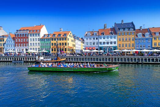 Nyhavn promenade in Denmark