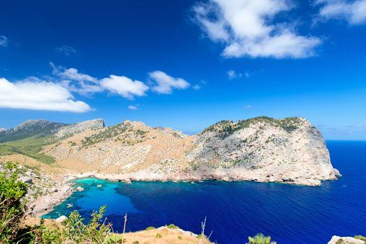 Tranquil bay at Majorca Island