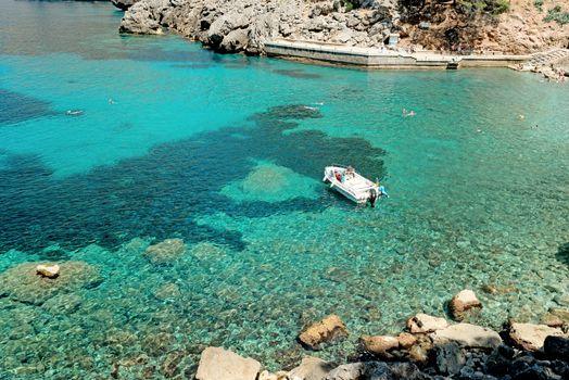 Tranquil bay at Majorca