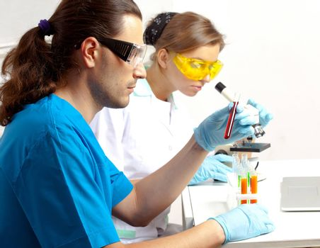 two scientists develop a new remedy for the treatment of in a lab
