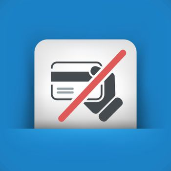 Credit card service not available
