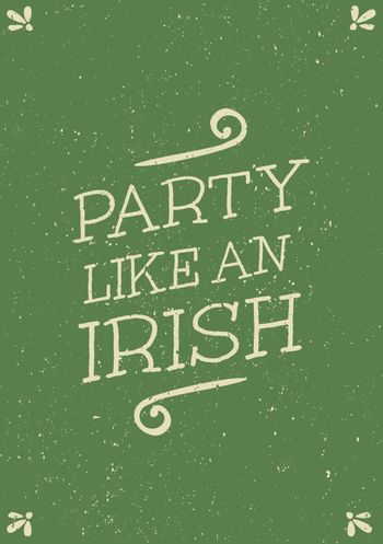 Hand Drawn St. Patrick's Day Card