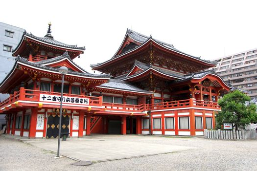 Osu Kannon temple in Nagoya city,Japan