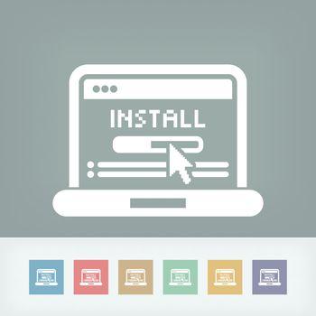 Pc install icon
