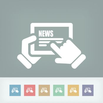 Web journal icon