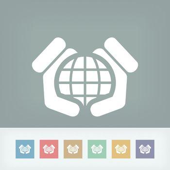 Word defense icon