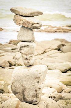 stck of rocks