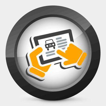 Automotive web site