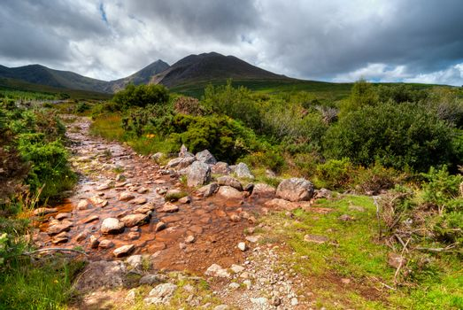 Mountain Stream in Ring of Kerry