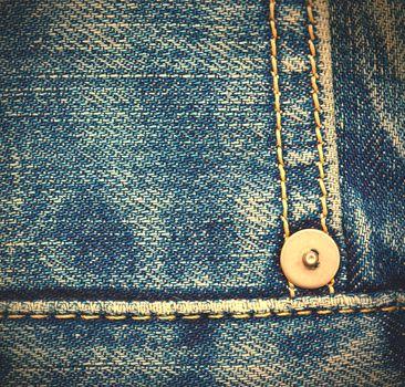 blue jeans, close up