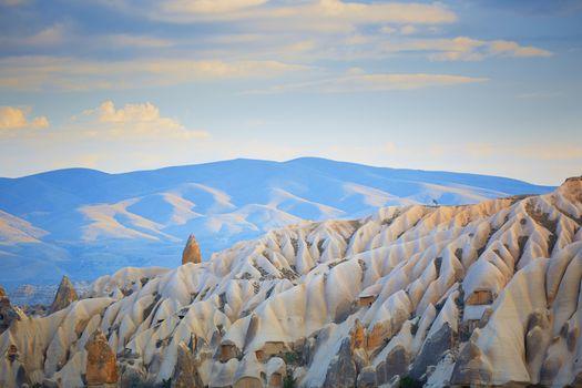 Rock formation of Cappadocia