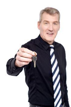 Take your house key.