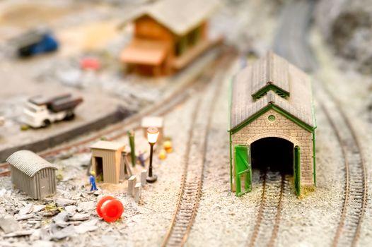 model engine shed