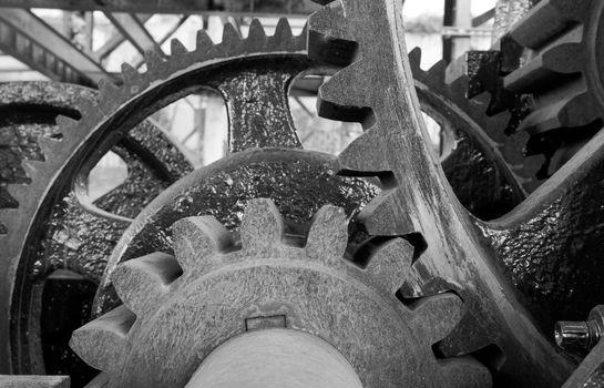 Original Gear Mechanism For Raising Lowering Murray Morgan Drawb