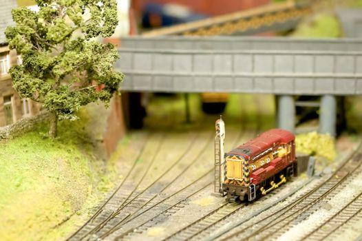 model train detail
