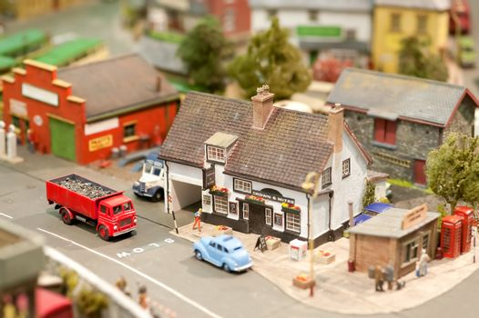 model village pub