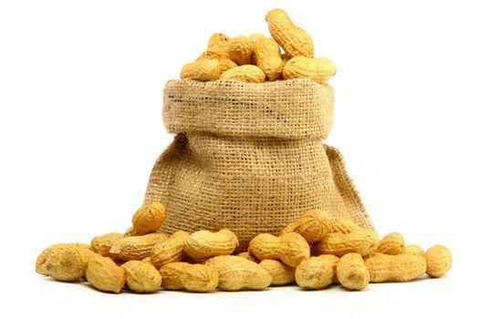 Peanut in Gunny Bag