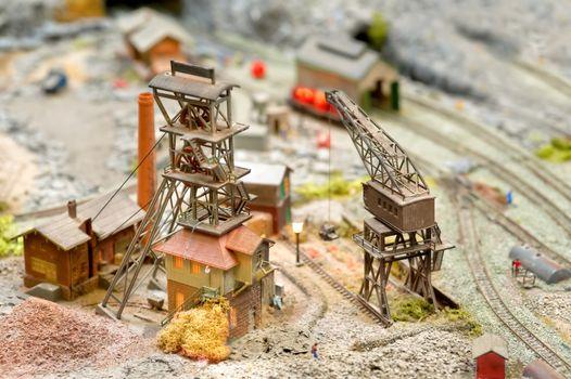 model coal mining