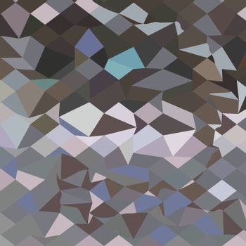 Low polygon style illustration of a mask abstract background.