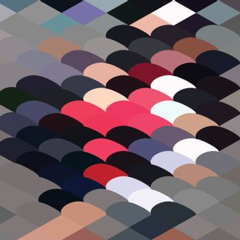 Pebble Abstract Low Polygon Background
