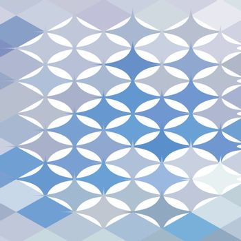 Low polygon style illustration of a stars abstract background.