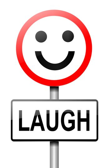 Laughter concept.