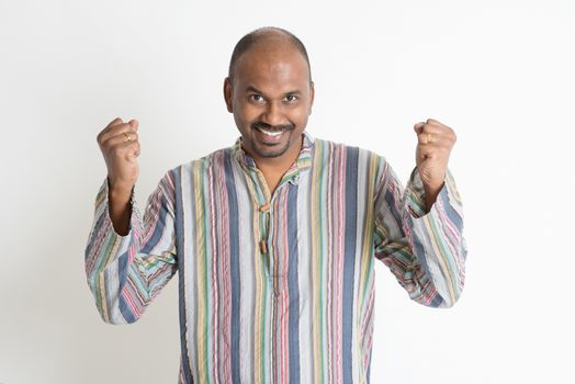 Indian guy celebrate