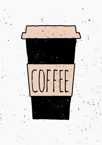 Hand Drawn Coffee Poster