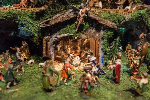 Historical Christmas Crib