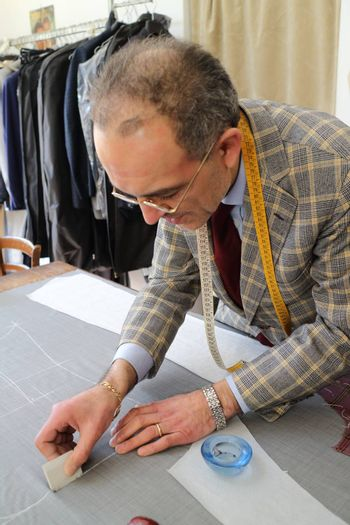 Real tailor near Assisi in Italy        Real tailor near Assisi in Italy