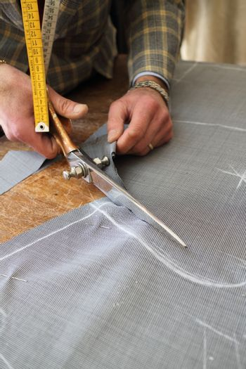 Real tailor near Assisi in Italy