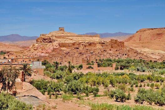 Ait Benhaddou Ksar Kasbah near Ourzazate in Morocco