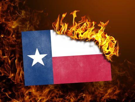 Flag burning - Texas