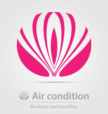 Air condition business icon