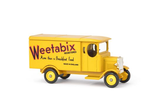 Weetabix delivery truck