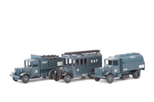 RAF Ground Crew Support Vehicles