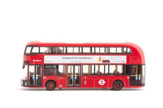 Hybrid London Bus