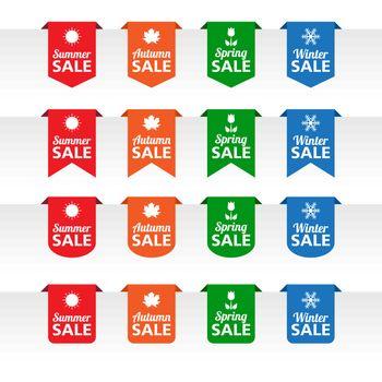 Season sale paper tag labels
