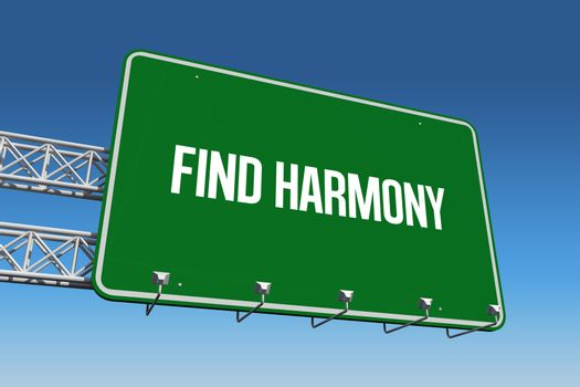Find harmony against blue sky