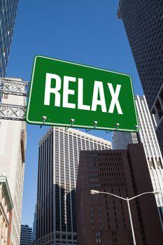 Relax against new york