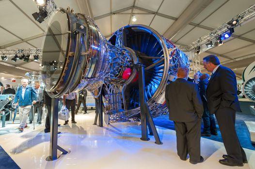 Rolls-Royce jet engine