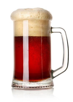 Mug of red beer